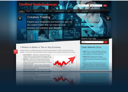 Local exchange trading system software